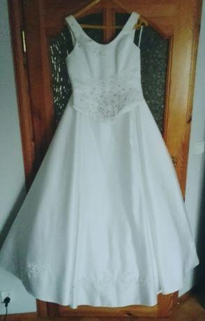 Suknia ślubna,dwuczęściowa,gorset ,spódnica S