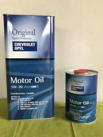 Syntetyczny olej dedykowany do OPEL/CHEVROLET 6 LITRÓW 5w30 DEXOS 2