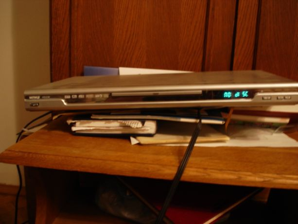 Wiwa odtwarzacz DVD+ okablowanie