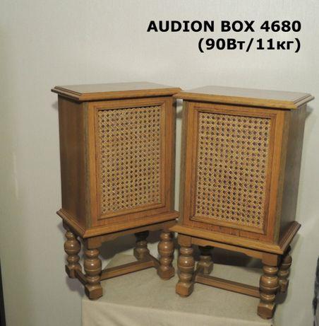Красивая 3-х полосная HI-FI акустика AUDION BOX 4680 (90Вт/ШПОН ДУБА)