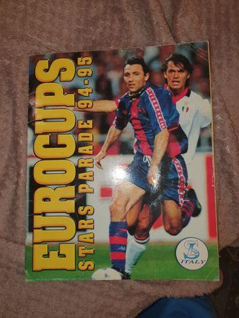 Album z naklejkami  Liga Mistrzów  94/95