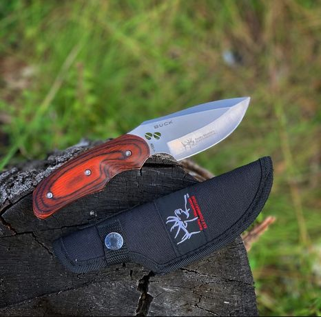 Код №202 Нож охотничий Buck/Разделочный/Шкуросьем/Мисливський ніж