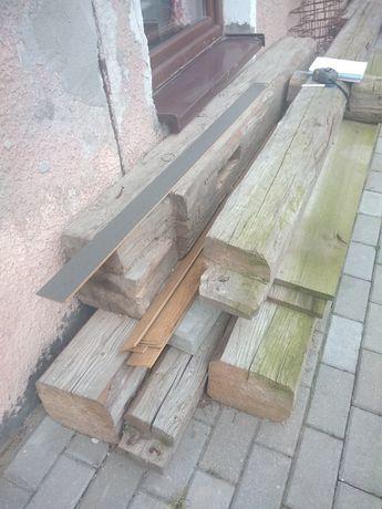 Stare belki z rozbiórki stodoly