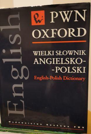 Wielki słownik angielsko-polski PKWN Oxford