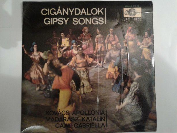 Płyty winylowe, muzyka węgierska / cygańska (zestaw 4)