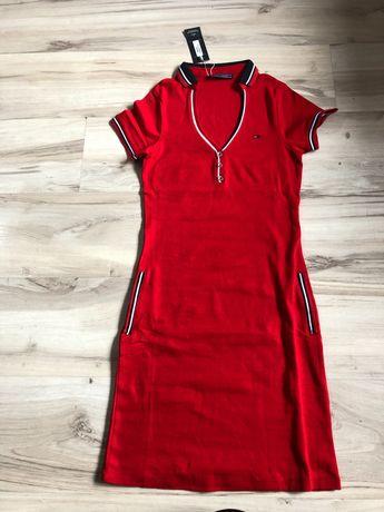 Sukienka czerwona Tommy M-XXL NOWA