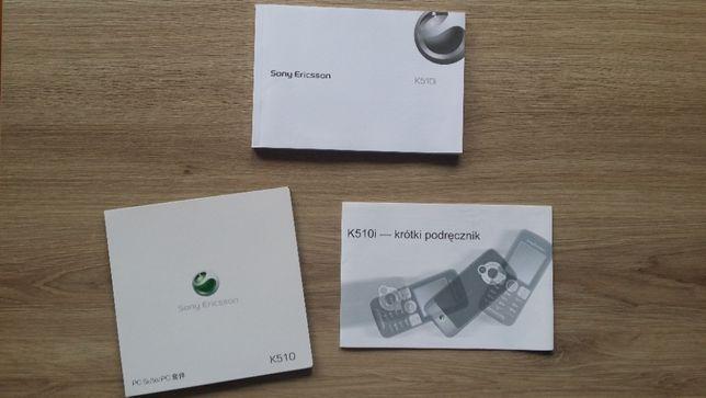 Sony Ericsson K510i Zestaw