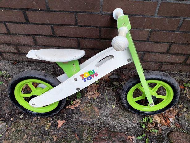 """rower biegowy drewniany 12"""""""