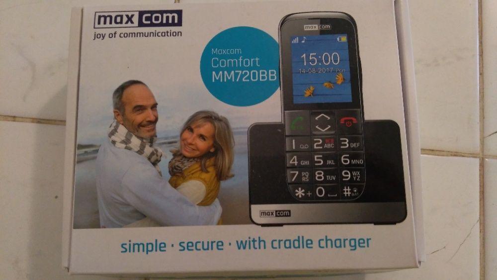 Nowy - Telefon Maxcom Comfort MM720BB ,idealny dla Seniora Kołobrzeg - image 1