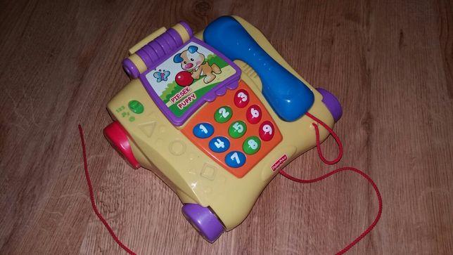 Telefon Fisher Price dwujęzyczny (12-36 m)