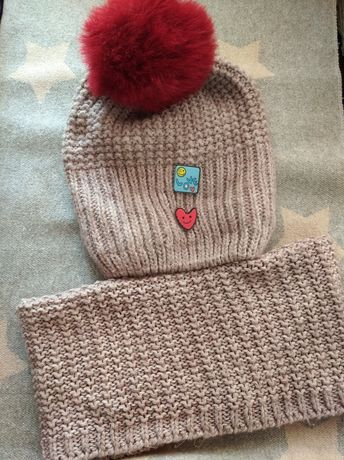 Зимняя шапка, шапка для девочки