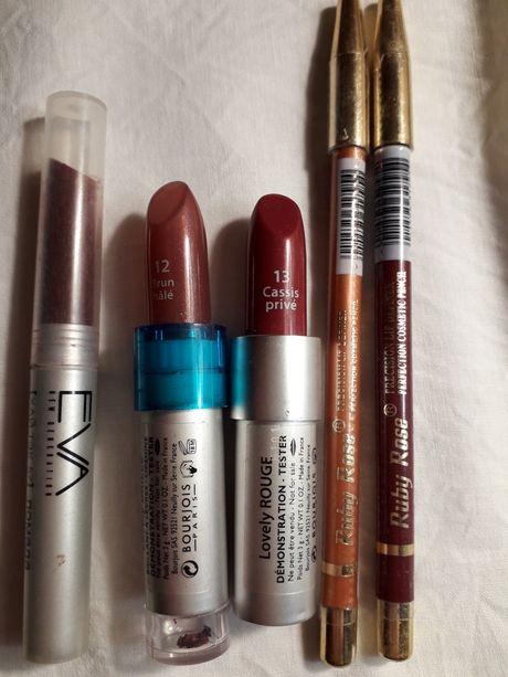 Помада и карандаш для губ