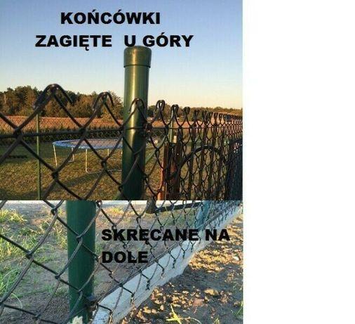 Siatka ogrodzeniowa ocynk+PCV 3,6- KOLOROWA-Producent-Szczecinek