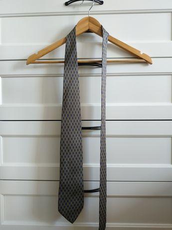 Włoski krawat, The Rack BEAUFORT, 100% jedwab