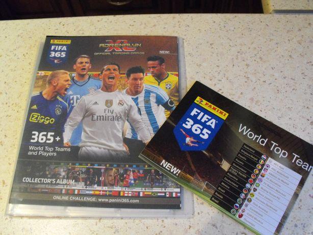 Karty FIFA 365 v 2016 , 120 sztuk + nowy album