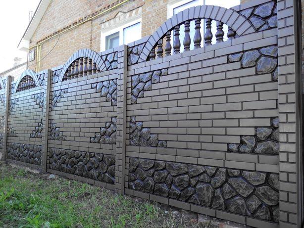 бетонный еврозабор вінниця