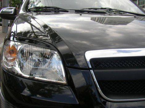 Реснички на фары Chevrolet Aveo/Epica/Lacetti Sedan/Lacetti hatchback