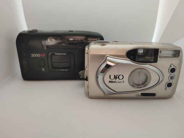 фотоаппараты мыльница polaroid 3000 af и ufo mini lux 2