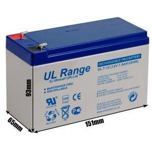 "Akumulator AGM ULTRACELL UL 12V 7AH ""żelowy"" FV 23%"