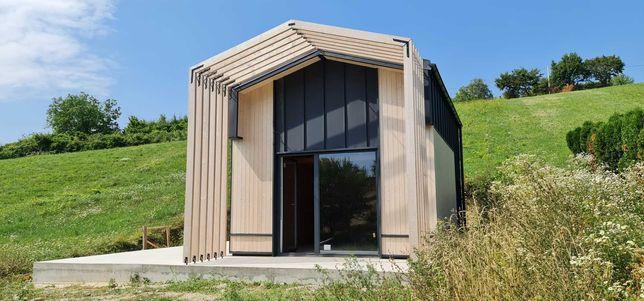 Wymarzony domek w 30 dni 35 m2 całoroczny 5x7 modułowy MTB ONE