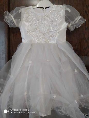 Пишное детское платье