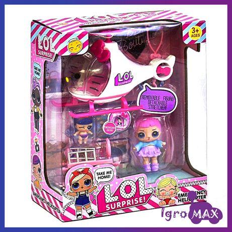 Игровой набор LOL Surprise K5623, кукла ЛОЛ с аксессуарами