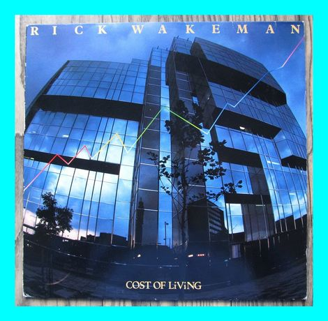 "Rick Wakeman – Cost of LiViNG, wilnyl 12"", 33 rpm"