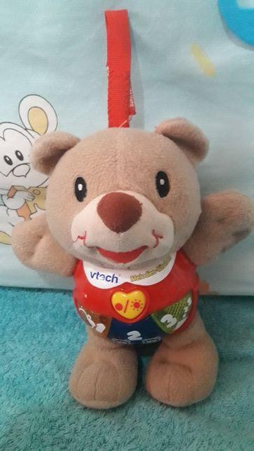 Говорящий мишка мягкая игрушка интерактивная