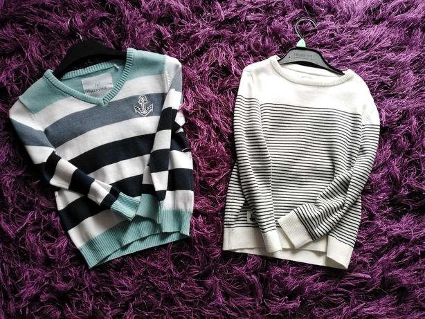 Sweterki chłopięce Reserved, H&M.