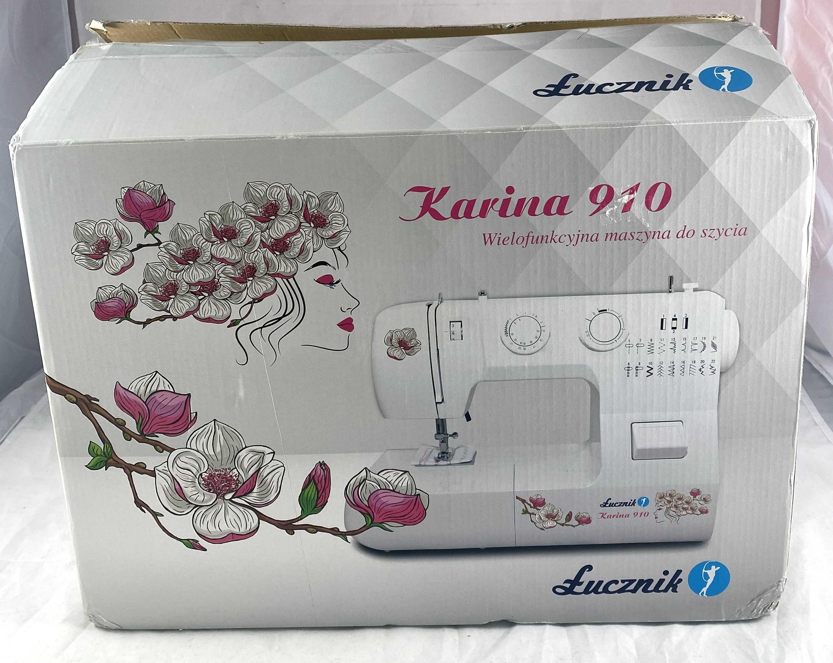 Maszyna do szycia Łucznik Karina 910