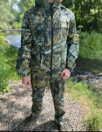 Костюм Демисезон Камуфляж Дубок охота и рыбалка мужской  Иновационный