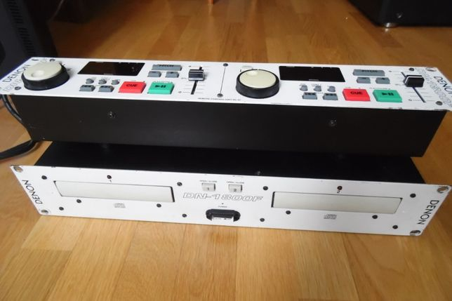 Denon Professional DN-1800F DJ Dual Twin CD Player Deck.