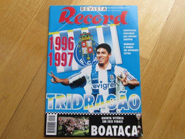 Revista - Época de futebol 1996/1997