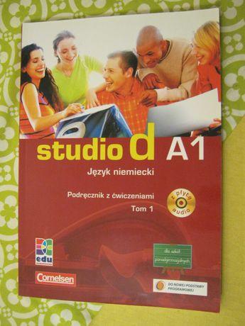 studio A1 język niemiecki + CD podręcznik
