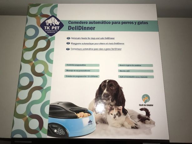 TK Pet - Comedouro automático para Cão/Gato