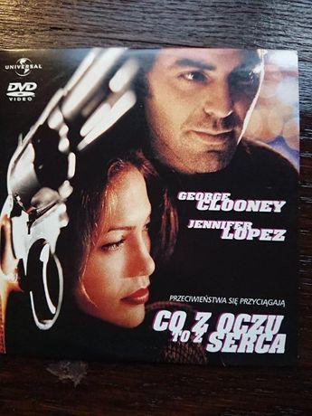 George Clooney na Co z oczy to z serca na dvd