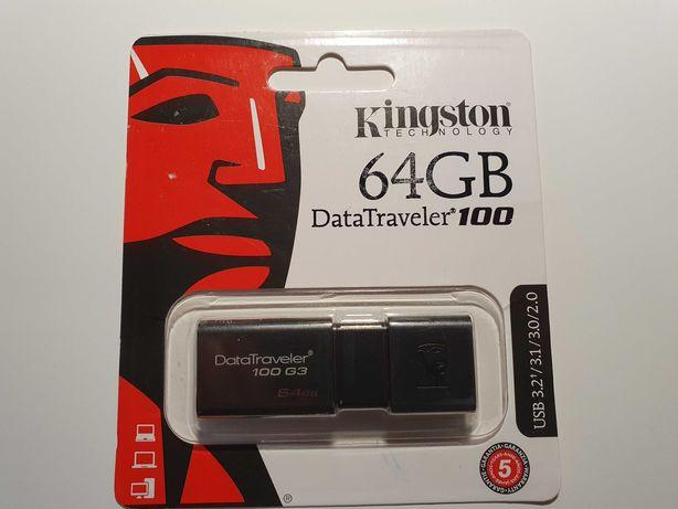 Kingston Data Traveler 100 G3 на 64 Гб