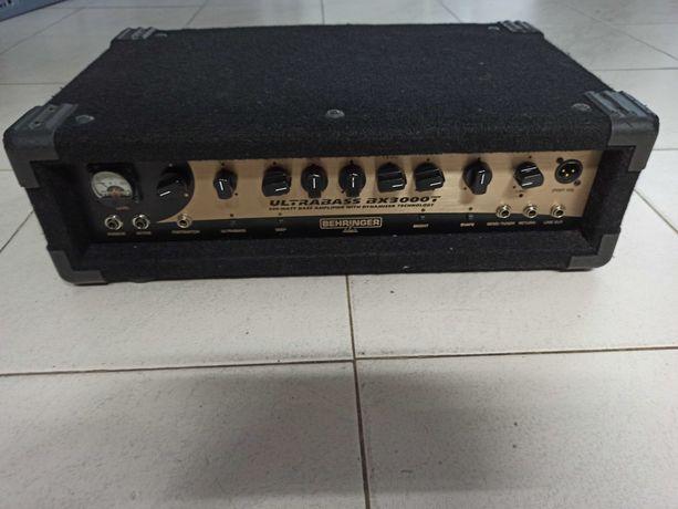 Behringer Ultrabass BX3000T revisado, em bom estado