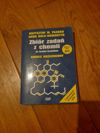 Zbiór zadań z chemii Pazdro, zakres rozszerzony