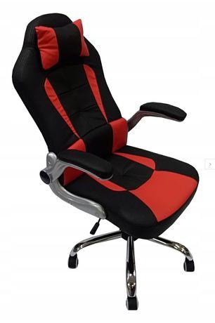 Fotel biurowy obrotowy z poduszką