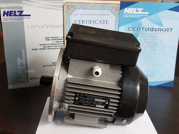 Электродвигатель, однофазный, мотор, двигатель, 220В, электромотор