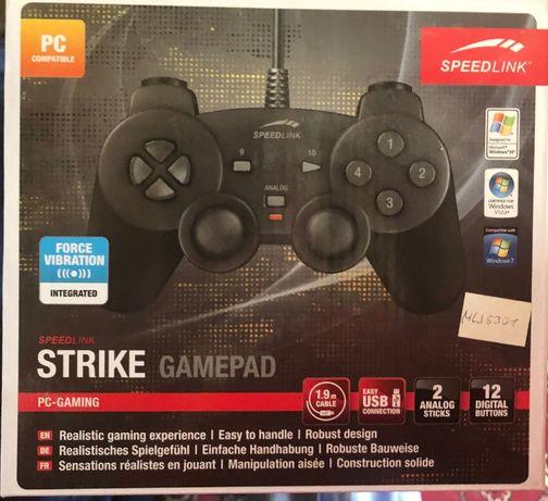 Геймпад SpeedLink PC Strike (SL-6535-SBK-01) совершенно новый