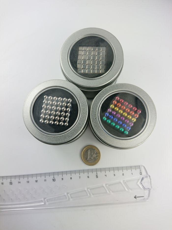 Inteligentne kulki magnetyczne NEOCUBE 216 elm. fi 5 mm Ożarów Mazowiecki - image 1