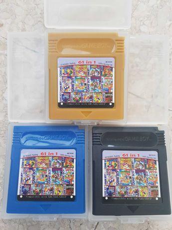 60 Jogos Gameboy - Wario, Mario, Megaman, Castlevania, Yoshi, Batman