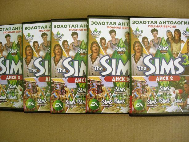 Симс 3 (The Sims 3). PC-DVD. Золотая коллекция, Полное издание