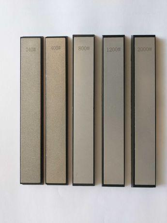 Алмазные точильные камни бланки бруски точилка для ножей набор (новые)