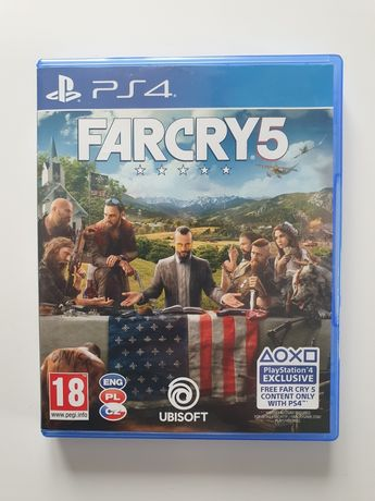 Gra Farcry 5 na PS4