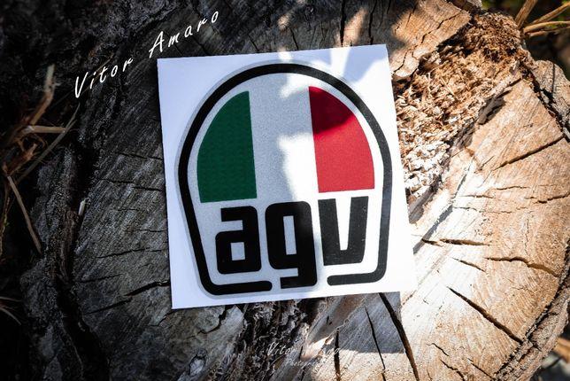 Autocolante para Moto AGV (Refletor) | NOVO