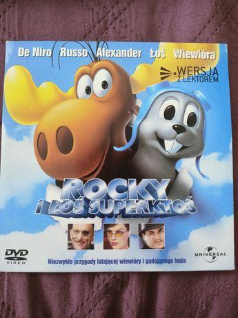 Rocky i Łoś Superktoś dvd