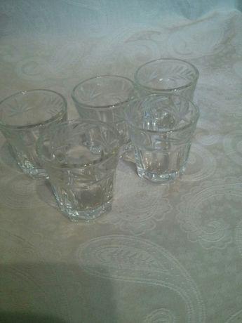 Склянки 5шт.